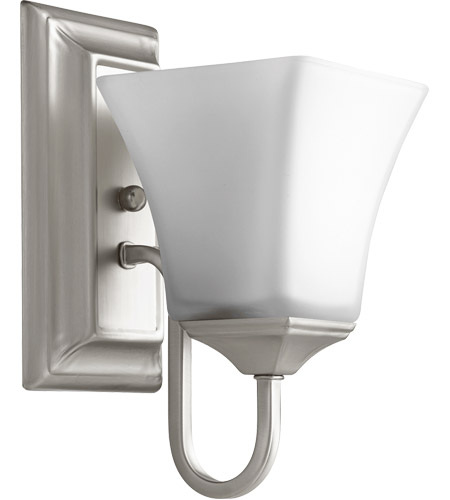 Quorum Satin Nickel Wall Sconces