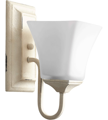Quorum 5504-1-70 Signature 5 inch Persian White Wall Mount Wall Light, Satin Opal photo