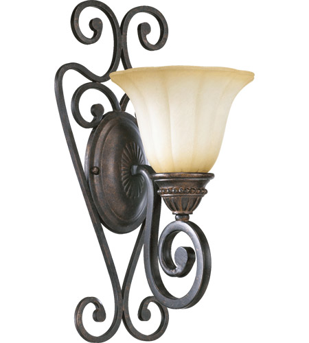 Quorum 5526-1-44 Summerset 1 Light 8 inch Toasted Sienna Wall Sconce Wall Light photo