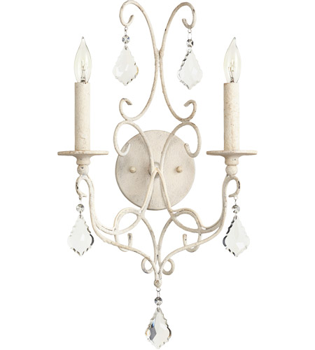 Quorum 5605-2-70 Ariel 2 Light 11 inch Persian White Wall Sconce Wall Light photo
