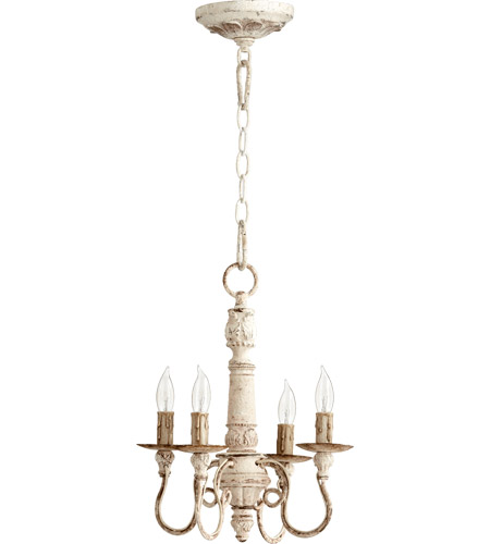 Quorum 6006-4-70 Salento 4 Light 13 inch Persian White Chandelier Ceiling Light photo
