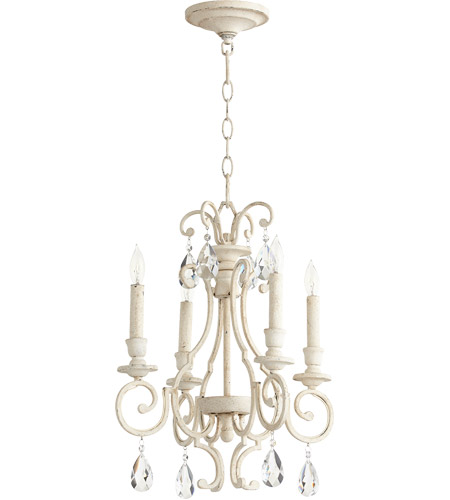 Quorum 6014-4-70 Ansley 4 Light 16 inch Persian White Chandelier Ceiling Light photo