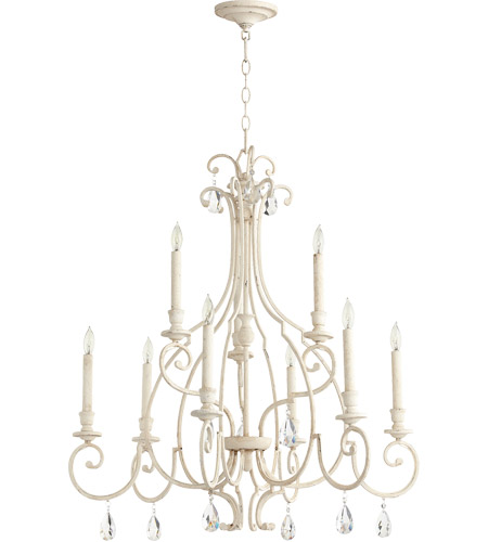 Quorum 6014-9-70 Ansley 9 Light 31 inch Persian White Chandelier Ceiling Light photo