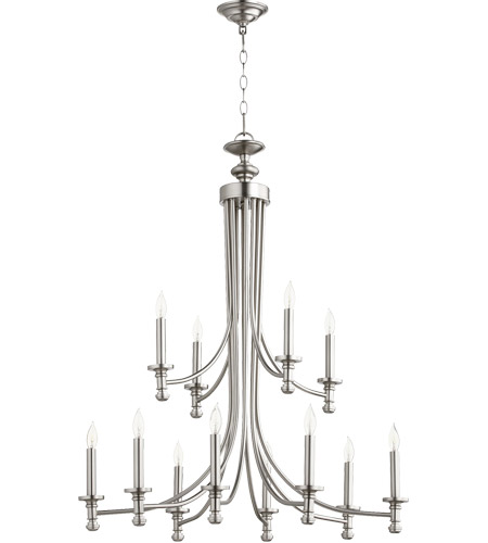 Satin Nickel Rossington Chandeliers