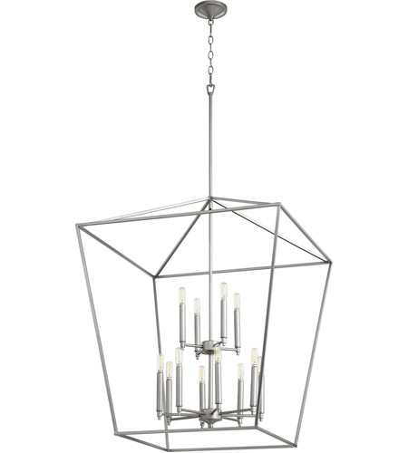 Quorum Classic Nickel Gabriel Foyer Pendants
