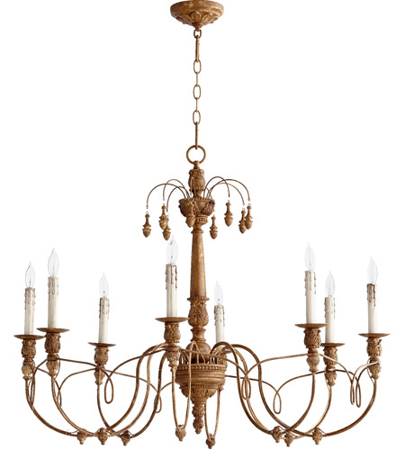 Quorum 6106-8-94 Salento 8 Light 37 inch French Umber Chandelier Ceiling Light photo