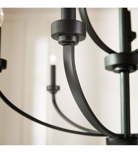 Quorum 6160-9-69 Reyes 9 Light 31 inch Noir Chandelier Ceiling Light alternative photo thumbnail