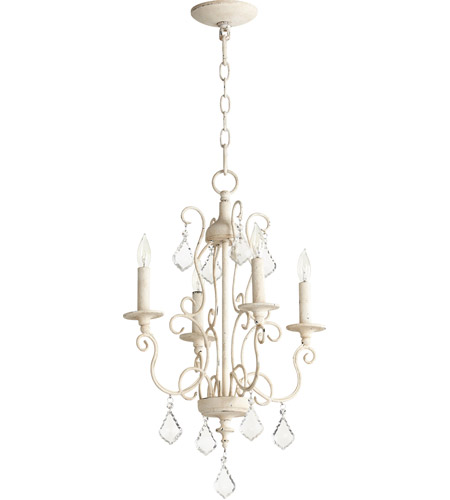 Quorum 6205-4-70 Ariel 4 Light 16 inch Persian White Chandelier Ceiling Light photo