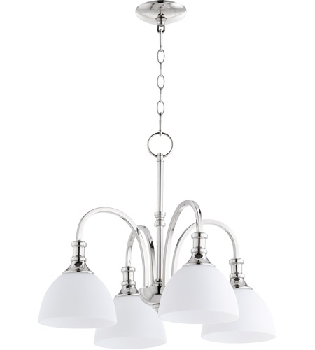 Quorum 6211-4-62 Richmond 4 Light 23 inch Polished Nickel Chandelier Ceiling Light photo