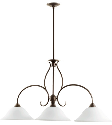 Quorum 6510-3-186 Spencer 3 Light 45 inch Oiled Bronze Island Light Ceiling Light photo