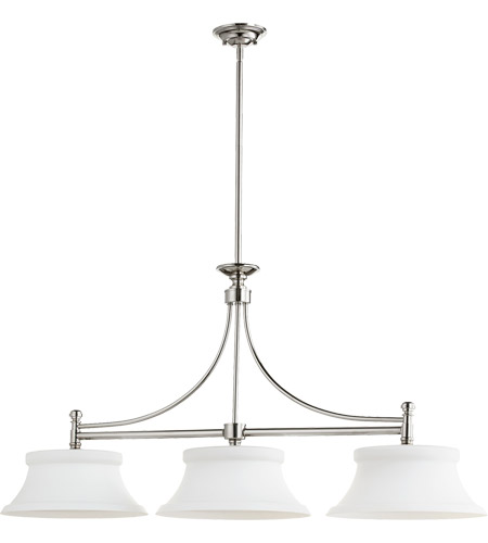 Quorum Polished Nickel Island Lights