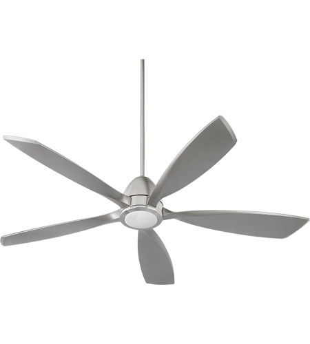 Quorum 66565-65 Holt 56 inch Satin Nickel Indoor Ceiling Fan