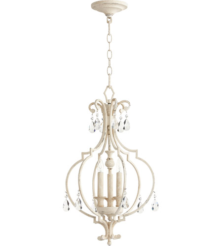 Quorum 6714-3-70 Ansley 3 Light 14 inch Persian White Foyer Pendant Ceiling Light photo