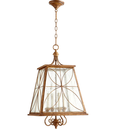 Quorum 6816-4-94 Salento 4 Light 15 inch French Umber Foyer Light Ceiling Light photo