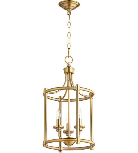 Aged Brass Rossington Pendants