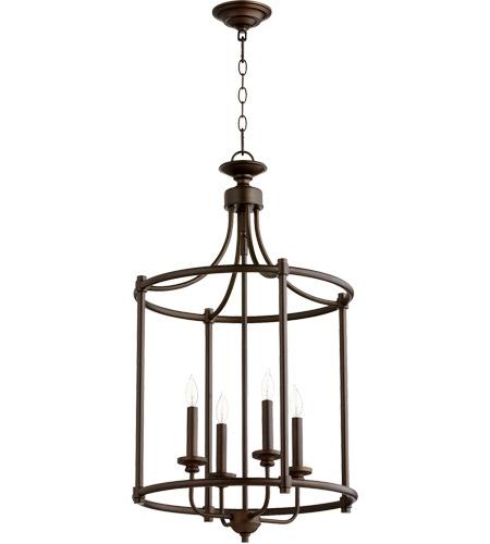 Quorum 6822-4-86 Rossington 4 Light 18 Inch Oiled Bronze