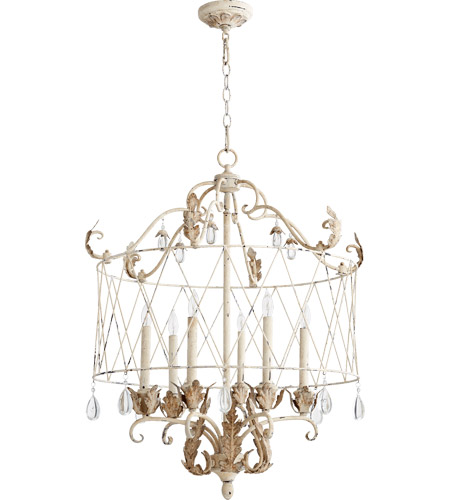 Quorum 6844-6-70 Venice 6 Light 28 inch Persian White Pendant Ceiling Light photo
