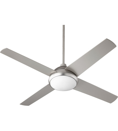Quorum 68524-65 Quest 52 inch Satin Nickel Indoor Ceiling Fan
