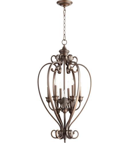Quorum Track Lighting: Quorum 6854-9-86 Bryant 9 Light 20 Inch Oiled Bronze Foyer