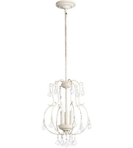 Quorum 6905-3-70 Ariel 3 Light 13 inch Persian White Pendant Ceiling Light  photo