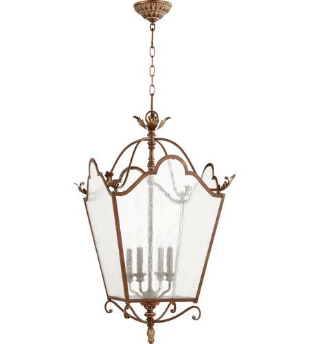 Retro Foyer Lighting : Quorum  salento light inch vintage copper