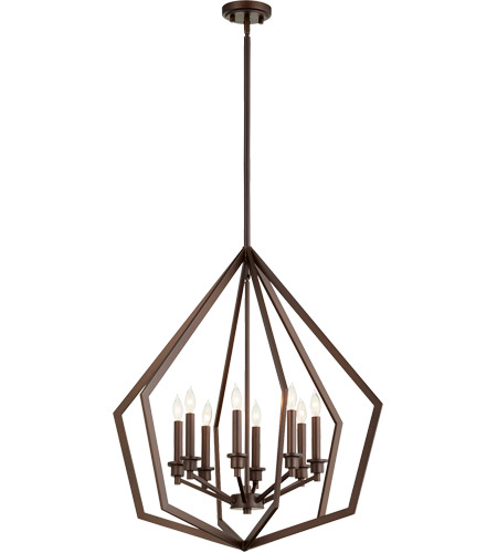 Quorum 699-8-86 Knox 8 Light 26 inch Oiled Bronze Pendant Ceiling Light alternative photo thumbnail