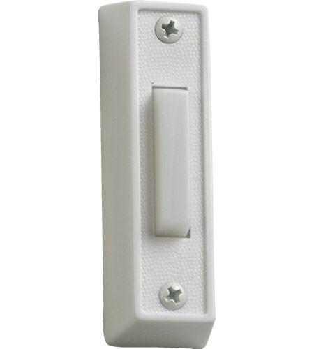Quorum 7-101-6 Lighting Accessory White Plastic Doorbell photo