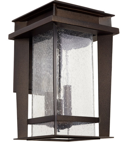 Quorum 7040-3-86 Easton 3 Light 17 inch Oiled Bronze Outdoor Wall Lantern, Quorum Home  photo