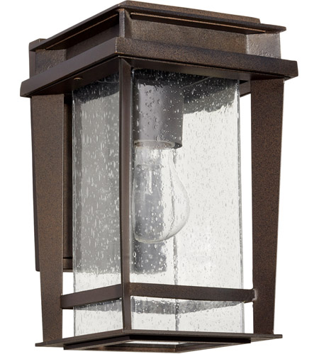 Quorum 7040-86 Easton 1 Light 12 inch Oiled Bronze Outdoor Wall Lantern, Quorum Home photo