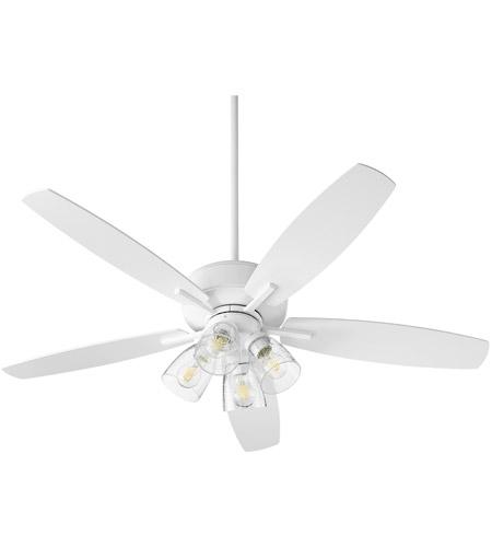 Quorum 7052 408 Breeze 52 Inch Studio White Ceiling Fan Quorum Home