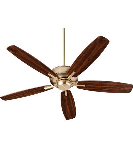 80 inch ceiling fans industrial quorum 705280 breeze 52 inch aged brass with dark oakwalnut blades indoor ceiling fan