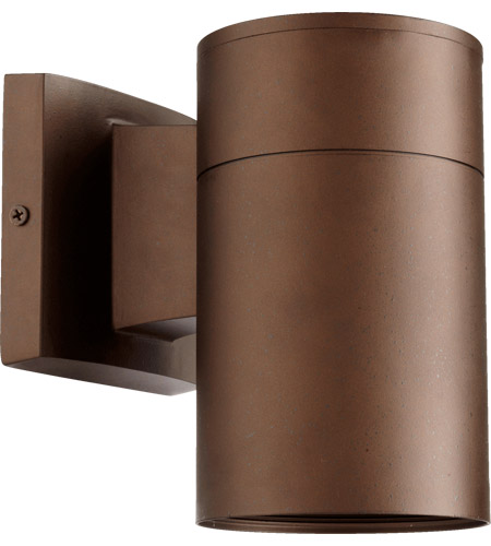 Quorum 720-86 Signature 1 Light 8 inch Oiled Bronze Outdoor Wall Sconce