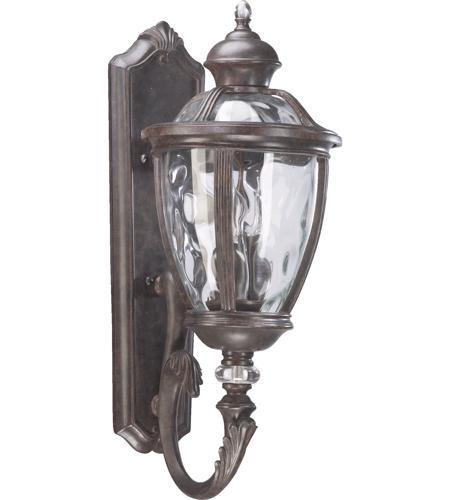 Quorum 7220 3 45 Sloane 3 Light 24 Inch Baltic Granite Outdoor Wall Lantern
