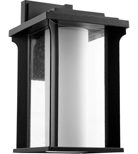 Quorum 7411-10-69 Garrett 1 Light 17 inch Noir Outdoor Wall Lantern photo
