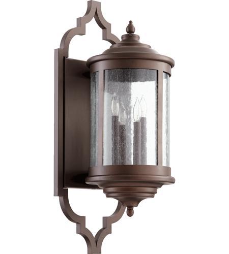 Quorum 745-4-86 Mayfair 4 Light 28 Inch Oiled Bronze