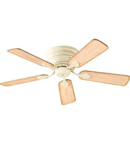 70 ceiling fan bronze quorum 7544570 barclay 44 inch persian white with distressed weathered pine blades hugger ceiling fan