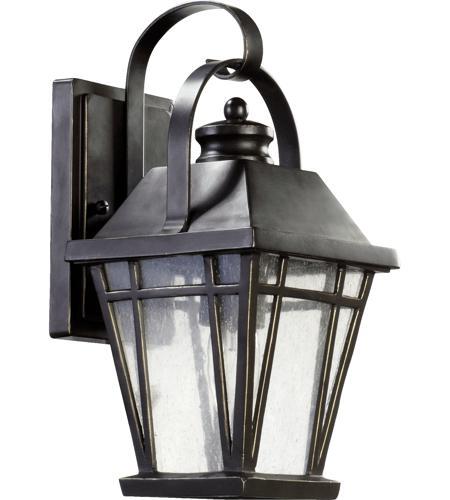 sc 1 st  Quorum Lighting Lights & Quorum 764-6-95 Baxter 1 Light 12 inch Old World Outdoor Wall Lantern