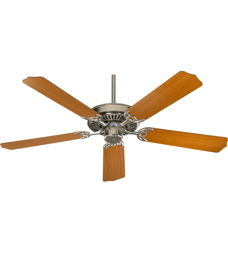 Quorum 77425 65 capri i 42 inch satin nickel ceiling fan mozeypictures Image collections