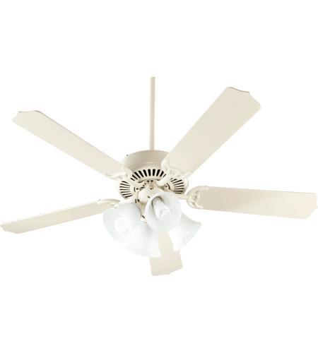 Quorum 77525 8167 capri v 52 inch antique white ceiling fan aloadofball Choice Image