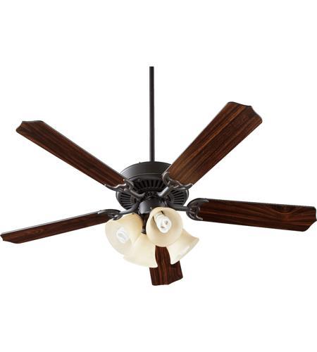 Quorum 77525 8395 Capri V 52 Inch Old World Ceiling Fan In
