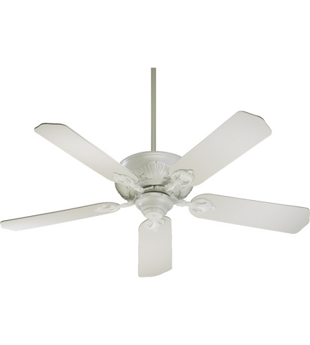 Quorum 78525-8 Chateaux 52 inch Studio White Ceiling Fan in Light Kit Not Included  photo