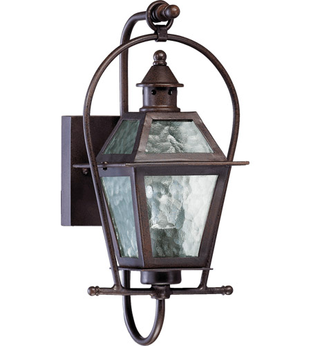 Quorum 7919-1-86 Bourbon Street 1 Light 16 inch Oiled Bronze Outdoor Wall Lantern  photo