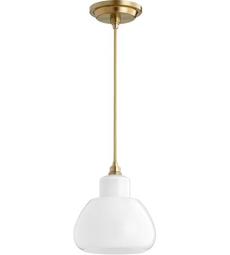 Quorum 8000 180 signature 1 light 7 inch aged brass pendant ceiling quorum 8000 180 signature 1 light 7 inch aged brass pendant ceiling light aloadofball Gallery