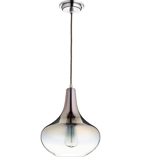 Quorum 8004-1311 Signature 1 Light 11 inch Gunmetal Pendant Ceiling Light photo
