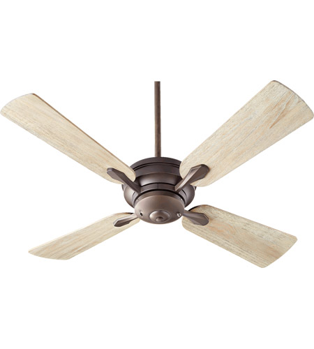 Oak Ceiling Fans With Lights : Quorum valor inch oiled bronze with