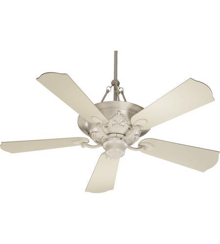 Quorum 83565 67 salon 56 inch antique white ceiling fan aloadofball Choice Image