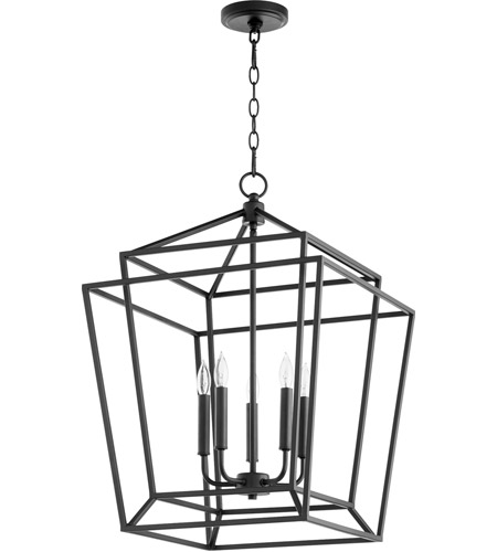 Quorum Noir Foyer Pendants
