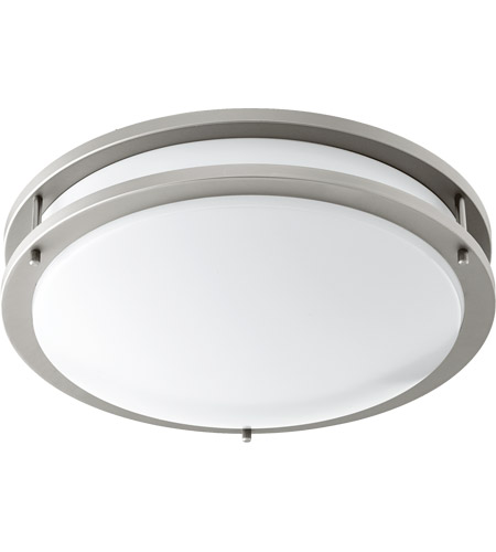 Quorum 903-15-65 Signature LED 15 inch Satin Nickel Flush Mount Ceiling Light photo