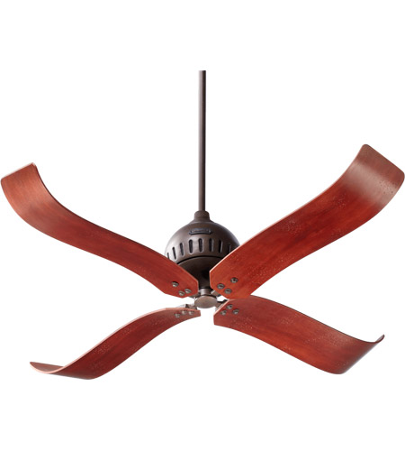 Quorum 90524-86 Jubilee 52 inch Oiled Bronze with Distressed Vintage Walnut Blades Ceiling Fan photo