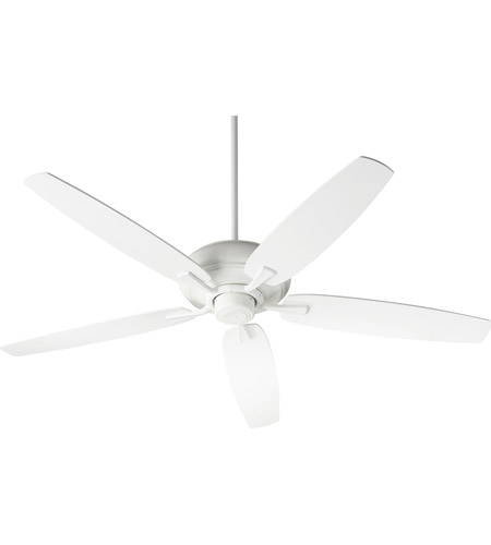 Quorum 90565-8 Apex 56 inch Studio White Indoor Ceiling Fan photo